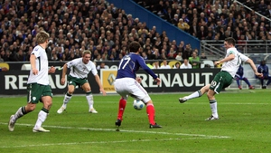 Not to forget the WC play-off against France in the Stade de France in 2009