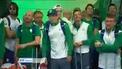 Irish Olympic team return home to Ireland