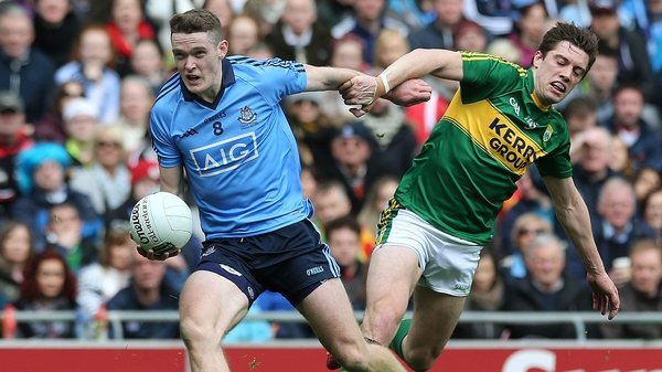 Dublin beat Kerry in the All-Ireland semi-final last year
