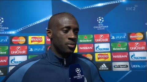 """UEFA Champions League Extras: Touré - """"It's going to be very difficult"""""""