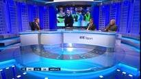 RTÉ Soccer panellists Michael O'Neill and Liam Brady look at the task ahead of Pep Guardiola at Man City