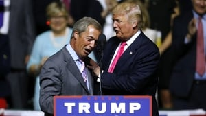 Nigel Farage said he would not vote for Hillary Clinton if she paid him