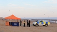 Men who died on beach thought to be from London