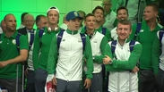 Irish Olympic team returns home