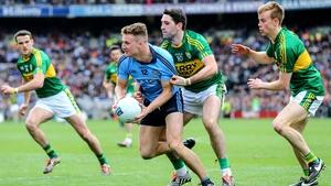 Bryan Sheehan in action against Dublin in the League Final