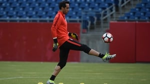 Claudio Bravo is widely believed to boast superior distribution with the ball at feet in comparison to Joe Hart