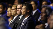 Real Madrid forward Cristiano Ronaldo at the draw in Monaco