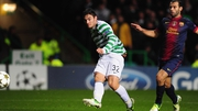 Tony Watt scored a famous winner when Celtic hosted Barcelona in 2012