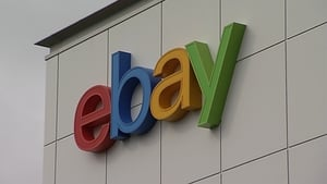 EBay's quarterly tevenue rose to $2.58 billion from $2.30 billion