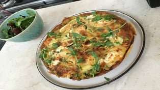 Summer Veg Frittata: Dublin Cookery School
