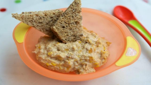 Back-To-School Tuna Puree from Mummycooks.ie