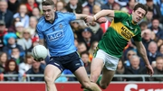 Brian Fenton in action against Kerry's David Moran