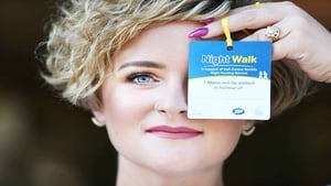 Louise McSharry, the ambassador  for Boots Night Walks.