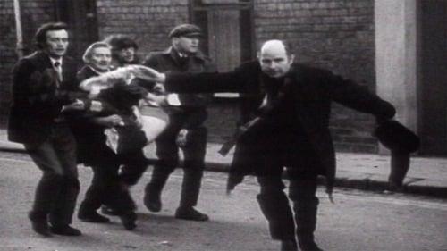 The iconic photo of Fr Edward Daly during Blood Sunday