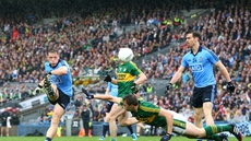 Action from last year's All-Ireland final which Dublin won by 0-12 to 0-09