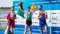 Paul O'Donovan wins Gold at the World Rowing Championships