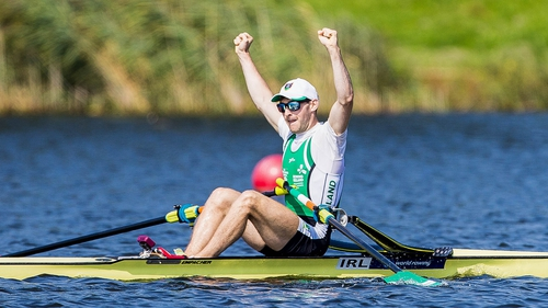 Paul O'Donovan will be out to retain his world lightweight sculls title