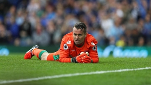Shay Given was credited with the Everton goal after the penalty rebounded off the post and off the former Ireland keeper