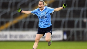Sorcha Furlong celebrates at the end of the game