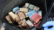 Around €200,000 in cash was seized during Garda operation