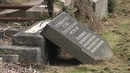 13 Jewish graves were damaged