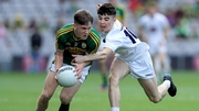 Micheal Potts of Kerry with Jack Robinson of Kildare