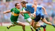 Dean Rock in possession for Dublin