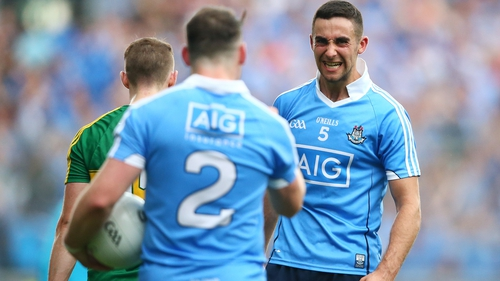 James McCarthy celebrates victory
