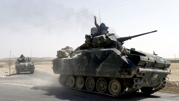 35 killed as Turkish army moves further into Syria
