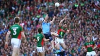 The Sunday Game panel of Liam Kearns, Colm O'Rourke and Dessie Dolan on the task facing Mayo in the All-Irealnd final