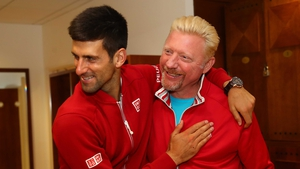Becker: 'Djokovic was carrying a wrist strain at Wimbledon'