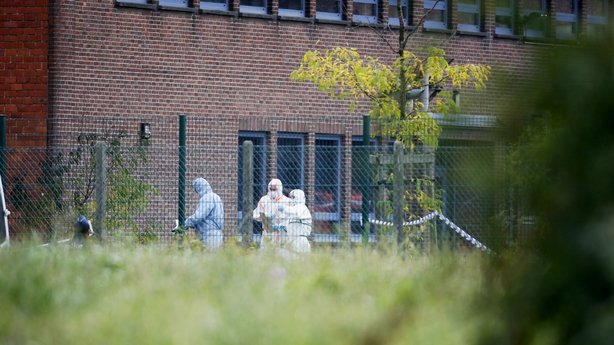 Forensics enter the National Institute for Criminalistics and Criminology