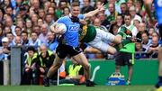Ciarán Kilkenny gets the better of Kieran Donaghy