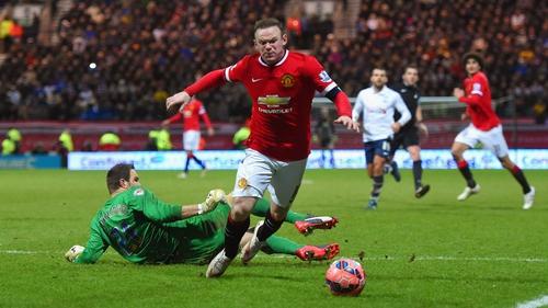 Wayne Rooney was named in Sam Allardyce's England squad yesterday