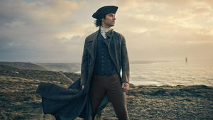 Aidan Turner says he struggles with Poldark's accent