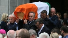 The funeral took place at St Michael's Church in Blackrock, Cork