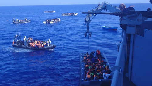 The right to asylum in Europe is currently the responsibility of the EU country where the asylum seeker arrives
