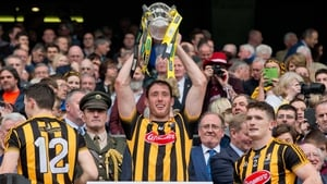 Michael Fennelly lifts last year's Liam MacCarthy Cup