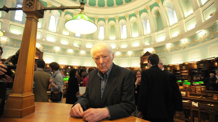 Today marks 3rd anniversary of Seamus Heaney's death