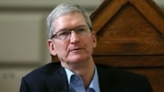 Tim Cook spoke to RTÉ News from California