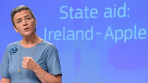 EU Competition Commissioner Margrethe Vestager said the €13bn is unpaid taxes not penalties