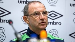 "O'Neill on Robbie Keane - ""He's been an absolutely terrific player"""