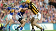 James Barry tussles with Colin Fennelly in the 2014 replay