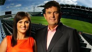 Des Cahill and Gráinne Seoige are hosting Up for the Match