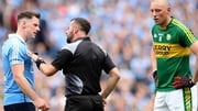 David Gough issued seven yellows and one black card during the Dublin-Kerry game