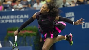 Serena Williams 'just went for more placement' with her serves