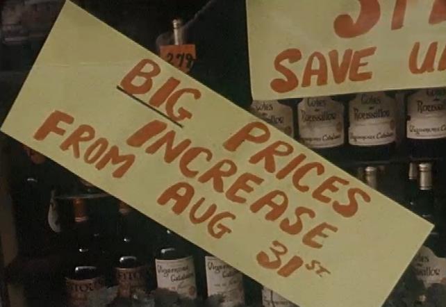 VAT Hikes (1981)