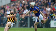 Brendan Maher goes up against Richie Hogan during the 2014 final