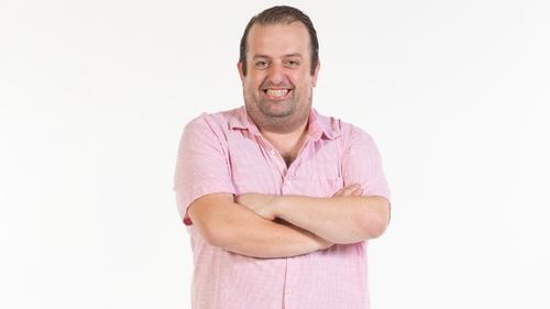 Comedian Karl Spain