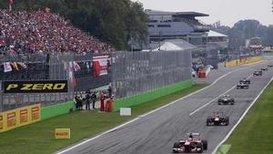 The Autodromo Nazionale circuit at Monza